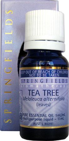 Tea Tree Certified Organic Springfields Essential Oil