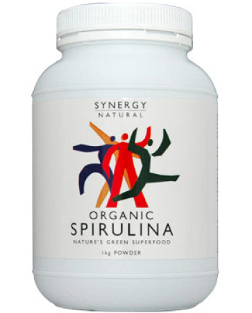 Synergy Certified Organic Spirulina Powder