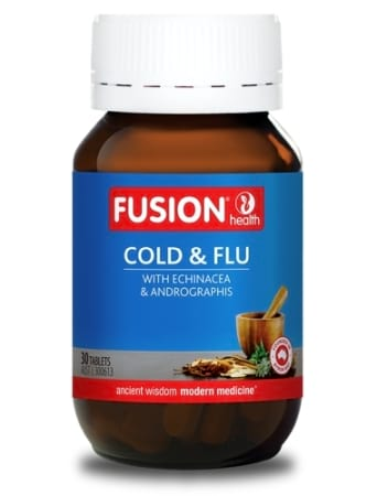 Fusion Health Cold and Flu Tablets
