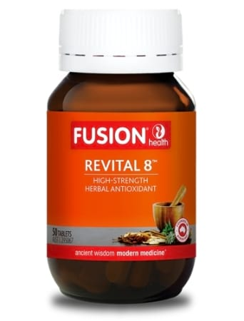 Fusion Health Revital 8 Resveratrol & Green Tea