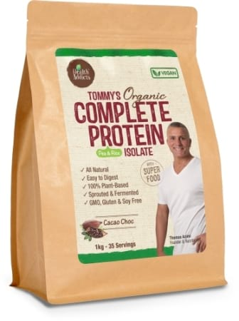 Health Addicts Tommy`s Organic Complete Protein Isolate