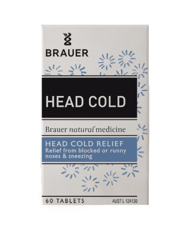 Brauer Head Cold Tablets