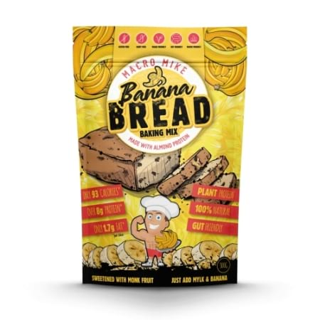 Macro Mike Banana Bread Baking MIx