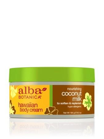 Alba Botanica Hawaiian Body Cream Coconut Milk