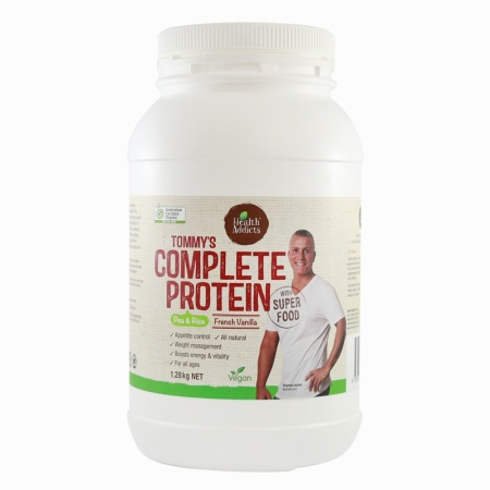 Health Addicts Tommy's Complete Protein 1.28kg