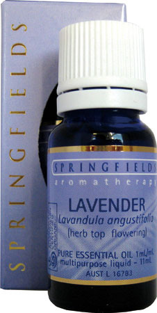 Lavender Certified Organic Springfields Essential Oil
