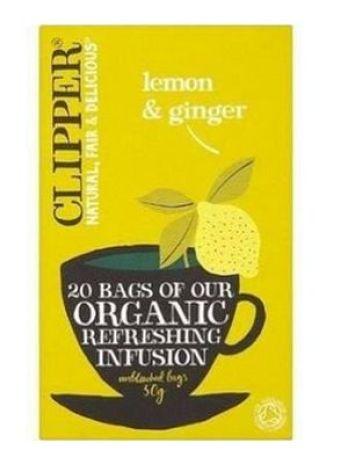 Organic Lemon and Ginger