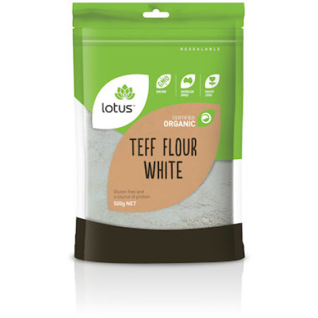 Lotus Teff Flour White