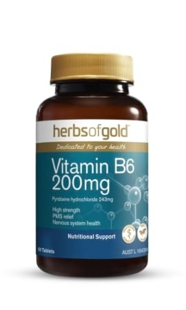 Herbs of Gold Vitamin B6 200 mg