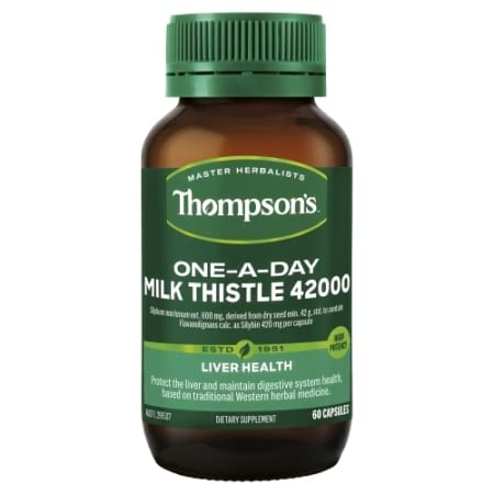 Thompsons One A Day Milk Thistle 42000mg Capsules