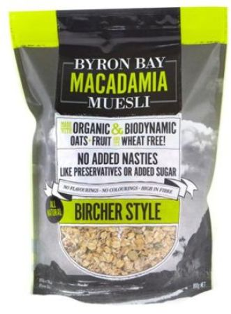 Byron Bay Natural Bircher Muesli