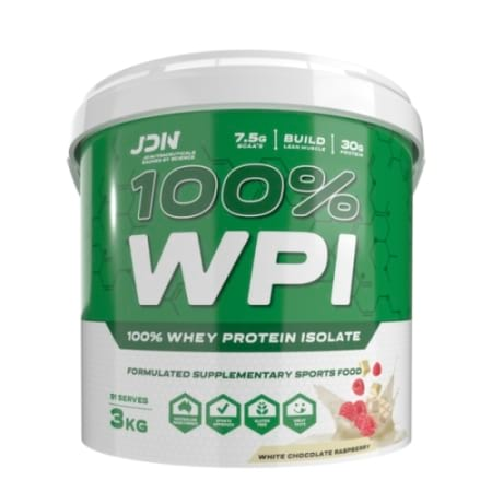 JD Nutraceuticals 100 WPI Whey Protein Isolate
