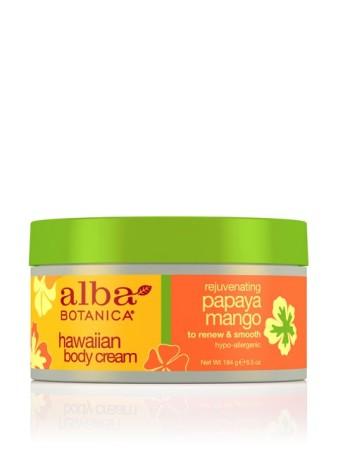Alba Botanica Hawaiian Body Cream Papaya Mango
