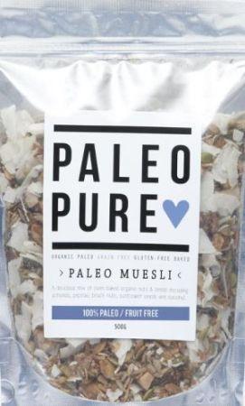 Paleo Pure Muesli Fruit Free