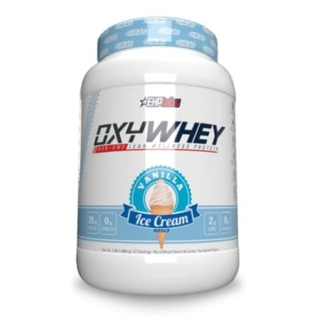 EHP Labs OxyWhey Lean Wellness Protein Vanilla Ice Cream