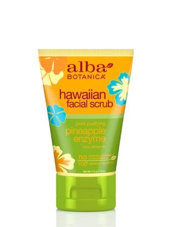 Alba Botanica Hawaiian Facial Scrub Pineapple Enzyme