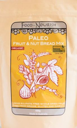 Food To Nourish Paleo Fruit and Nut Bread Mix
