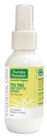 Tea Tree Antiseptic Spray with Aloe Vera Thursday Plantation