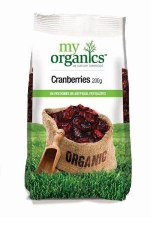 My Organics Cranberries