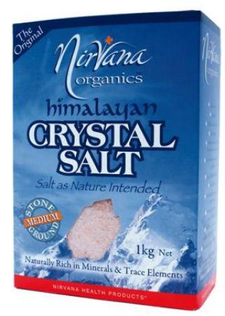 Nirvana Crystal Salt Medium