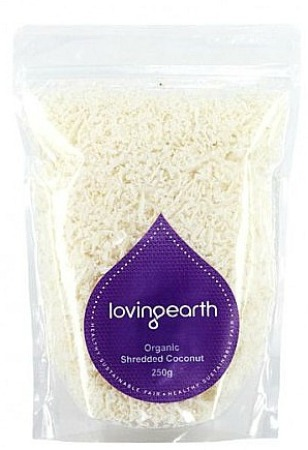 Loving Earth Organic Shredded Coconut