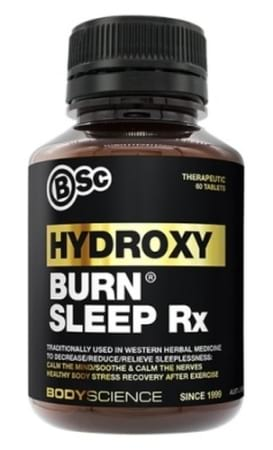 BSc Body Science HydroxyBurn Sleep Rx 60 Tabs