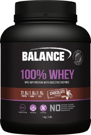 Balance 100 Percent Natural Whey