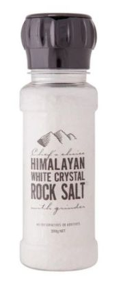 Chefs Choice Himalayan White Crystal Rock Salt