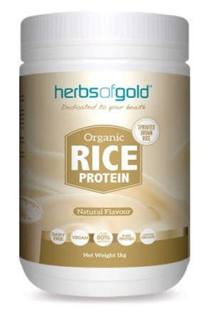 Herbs of Gold Organic Rice Power Protein