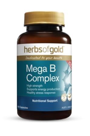 Herbs of Gold Mega B Complex
