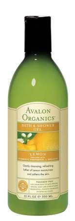 Avalon Organics Lemon Bath and Shower Gel