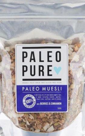 Paleo Pure Muesli Berries and Cinnamon