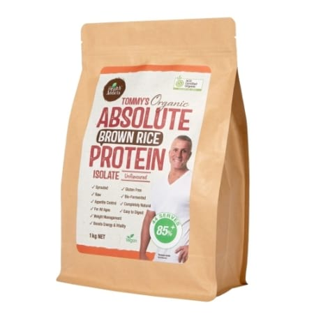 Health Addicts Tommy`s Absolute Brown Rice Protein Isolate 1kg