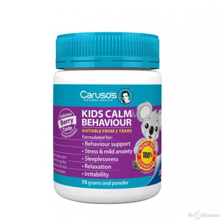Carusos Natural Health Kids Calm and Behaviour