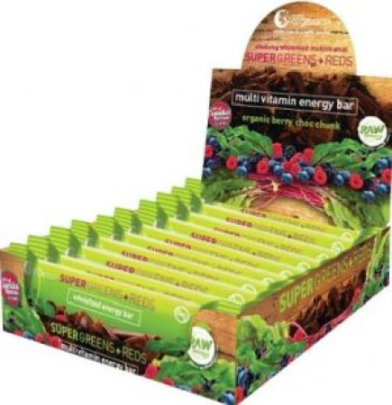 Nutra Organics Super Greens and Meds Multivitamin Energy Bar