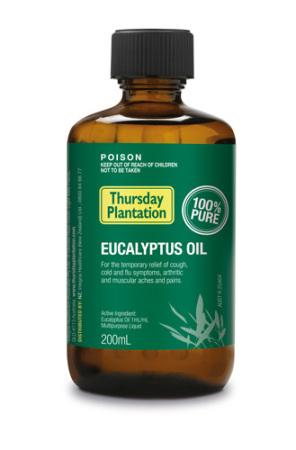 Eucalyptus Oil Pure Thursday Plantation