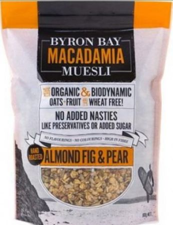 Byron Bay Almond Fig and Pear Muesli