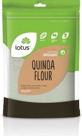 Lotus Quinoa Flour