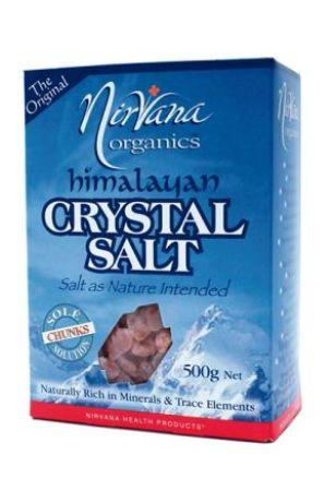 Nirvana Crystal Salt Chunks