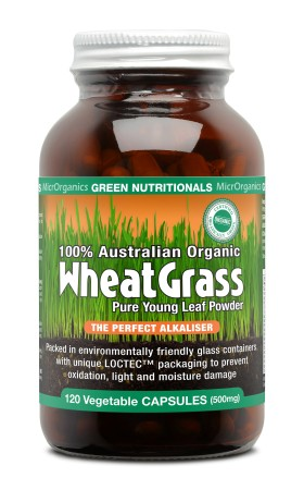 Green Nutritionals Wheat Grass