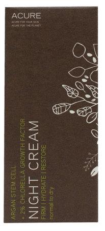 Acure Organics Argan Stem Cell Chlorella Night Cream