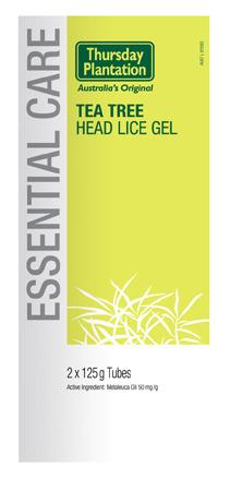Tea Tree Head Lice Gel Thursday Plantation