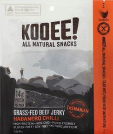 Kooee All Natural Snacks Habanero Chilli