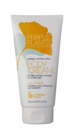 People for Plants Ginkgo, Coconut and Shea Body Cream