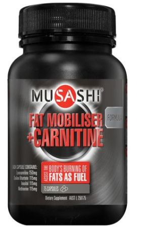 Musashi Fat Metaboliser plus Carnitine