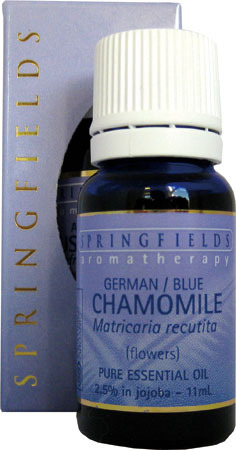 Chamomile German Blue Certified Organic Springfields Essential Oil