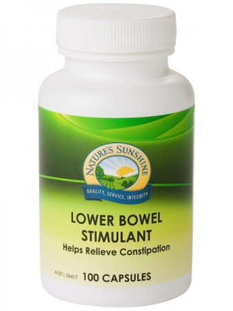 Nature`s Sunshine Lower Bowel Stimulant