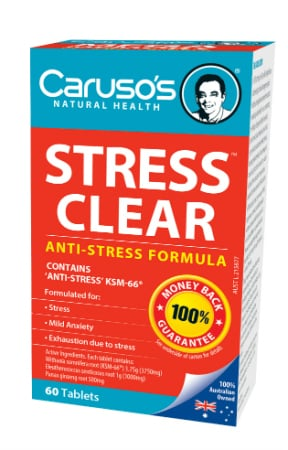 Carusos Natural Health Stress Clear