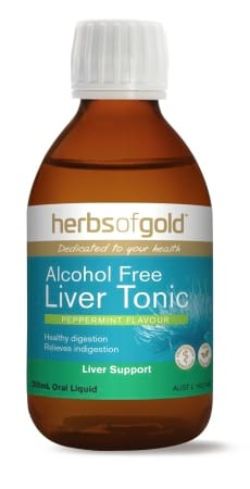 Herbs of Gold Liver Tonic - Alcohol Free