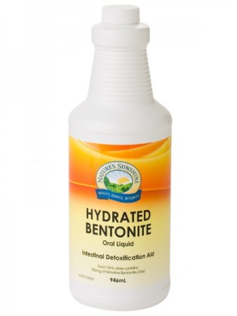 Nature`s Sunshine Hydrated Bentonite